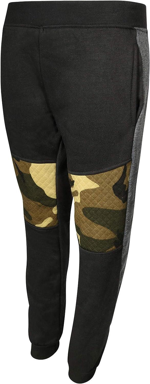 Quad Seven Boys 2 Piece Fleece Jogger Set Grey Camo Size 8//10