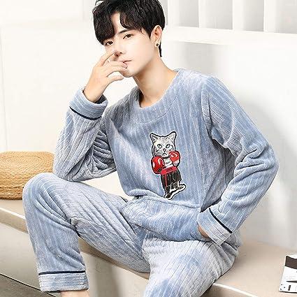 NUB Pijama Hombre Entero De Una Pieza, Pijama Hombre Invierno ...