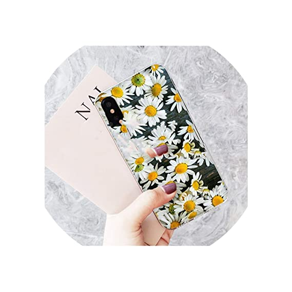 Amazon Com The Fashion Phone Case Yellow Flower Small Daisy