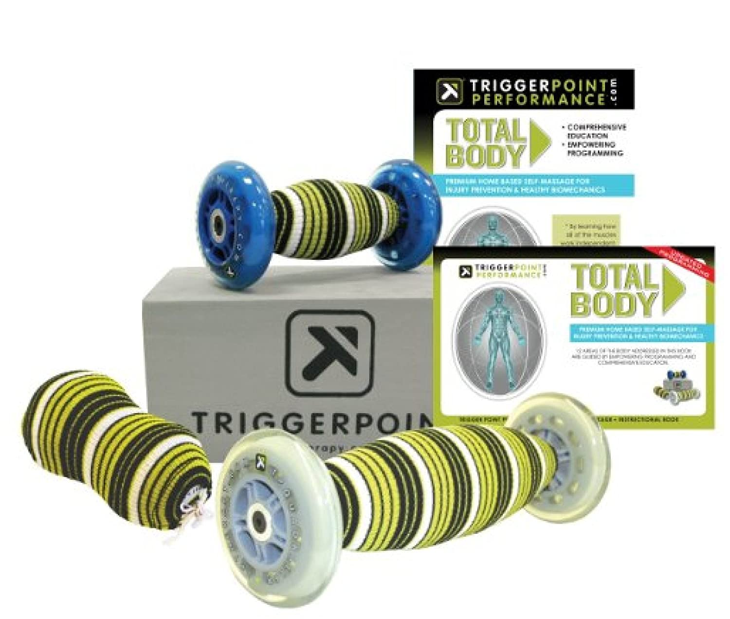 Trigger Point Performance Total Body Self-Myofascial Release and Deep Tissue Massage Kit with Instructional DVD and Guidebook [並行輸入品]   B00X1PC5AE