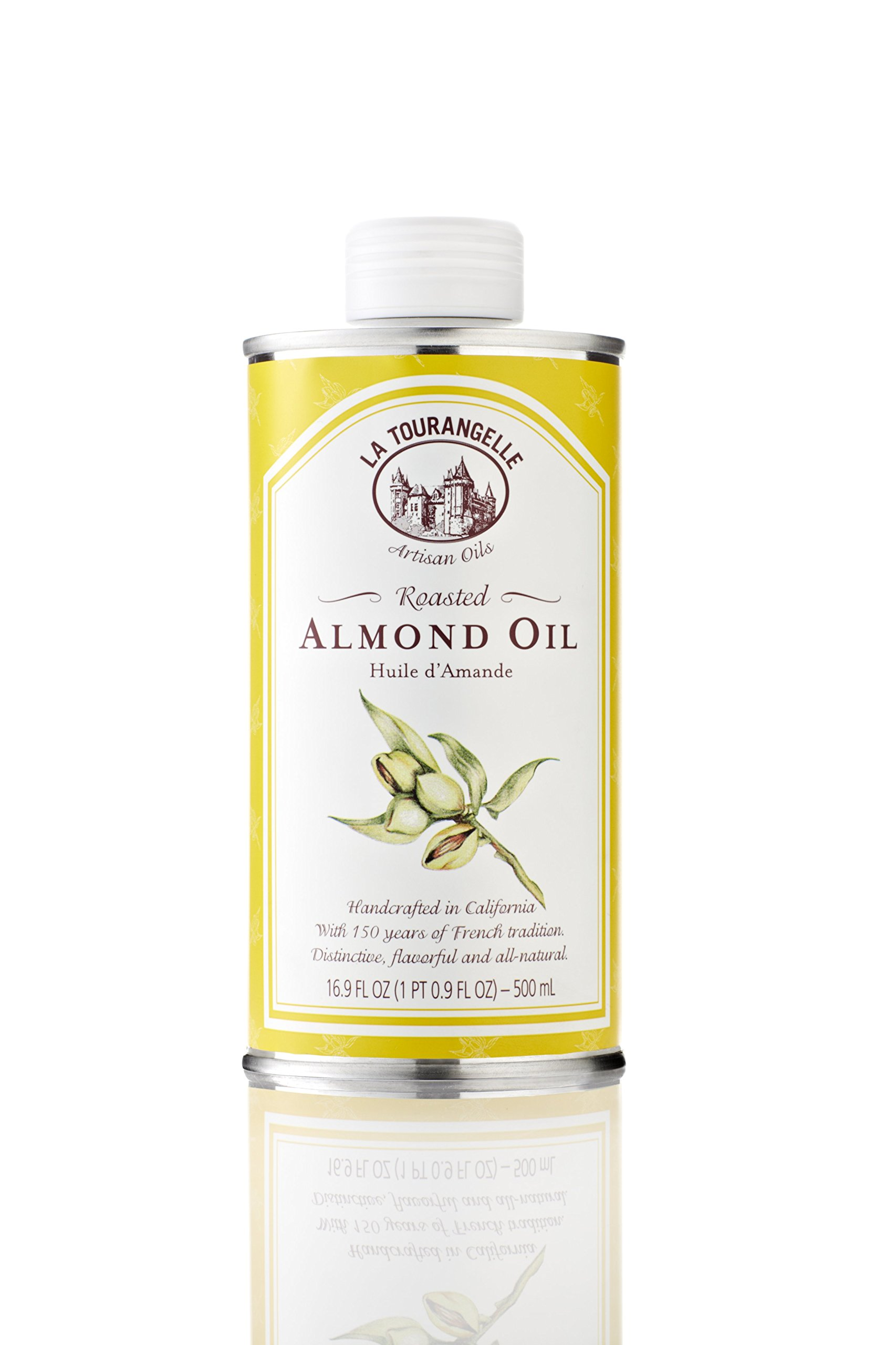 La Tourangelle Roasted Almond Oil, 16.9-Ounce Unit (Pack of 3) by 3M