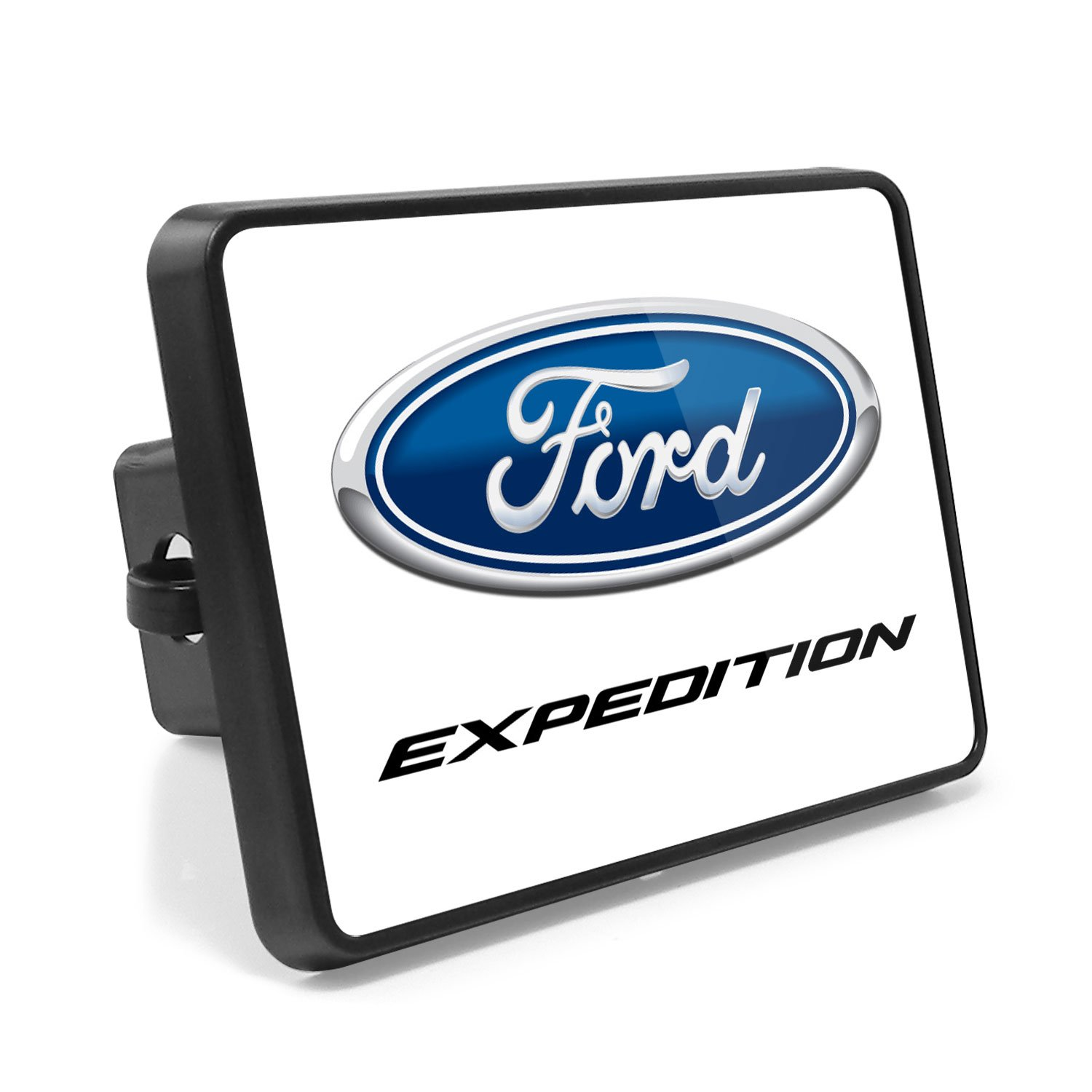 Made in USA Ford SVT UV Graphic Metal Plate on ABS Plastic 2 inch Tow Hitch Cover