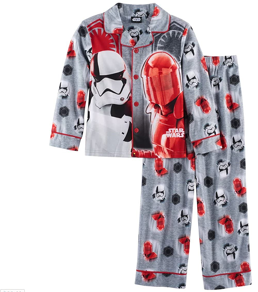 AME Star Wars The Last Jedi Boys Pajama Set Size 8