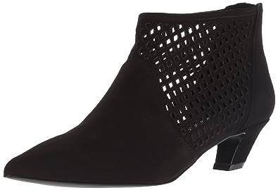 c82280b6dbb Amazon.com | Nine West Women's Yovactis Suede Ankle Boot | Ankle ...