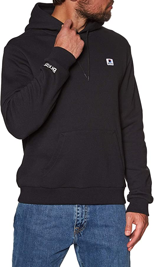 : BRIXTON Stowell VII Intl Pullover Hoody: Clothing