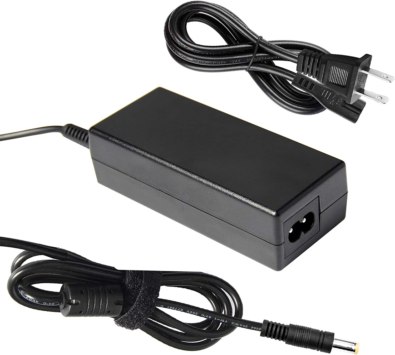 ARyee 19V 2.37A AC Adapter Laptop Charger Power Supply for Toshiba Satellite PA3822U-1ACA PA3822E-1AC3 C50 C55 C55D C55DT C55T C75 C75D E45T L50 L55 L55D L75 S50 S55 S55t S70 S75