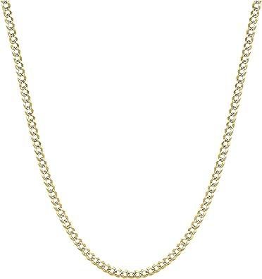 "Mens 6.5mm Italian Figaro Chain Diamond Cut 12 Piece 8/"" 20/"" 24/"" 30/"" Wholesale"