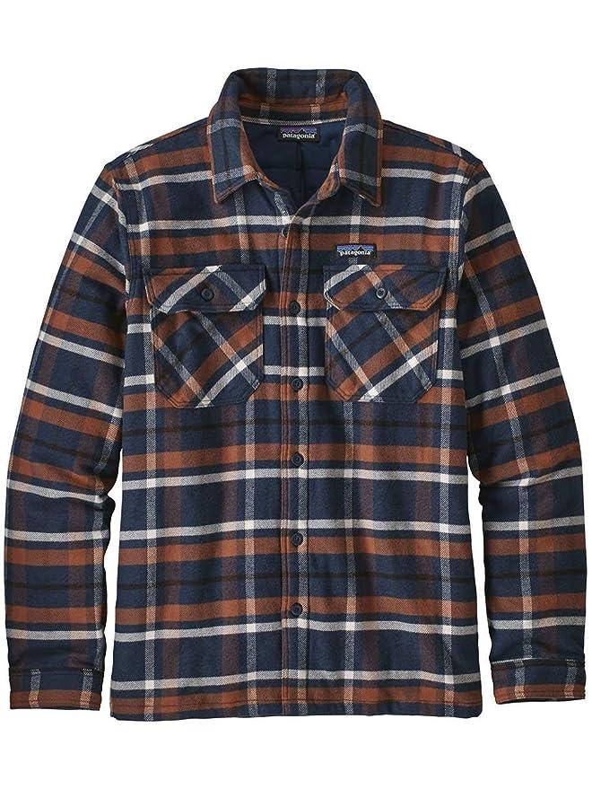 613ce4e608d Patagonia Camicia Insulated Fjord Flannel Jacket Uomo  Amazon.fr  Vêtements  et accessoires