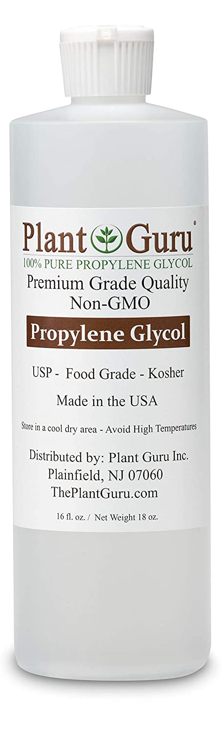 Propylene Glycol 16 oz Food Grade USP Kosher 100% Pure Highest Quality and Purity