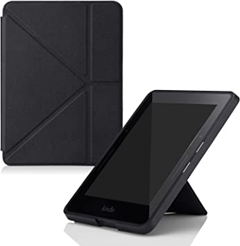 MoKo Amazon Kindle Voyage Funda - De pie Origami Slim Shell Funda ...