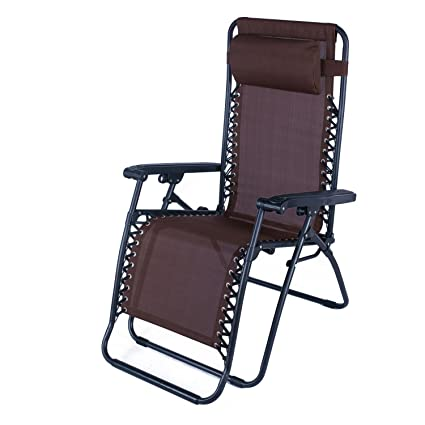 amazon com adeco outdoor folding reclining zero gravity chair
