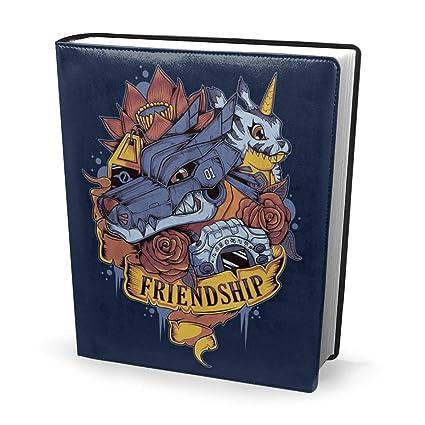 Funda para libro de 9 x 11 pulgadas con tatuaje de amistad Dig ...