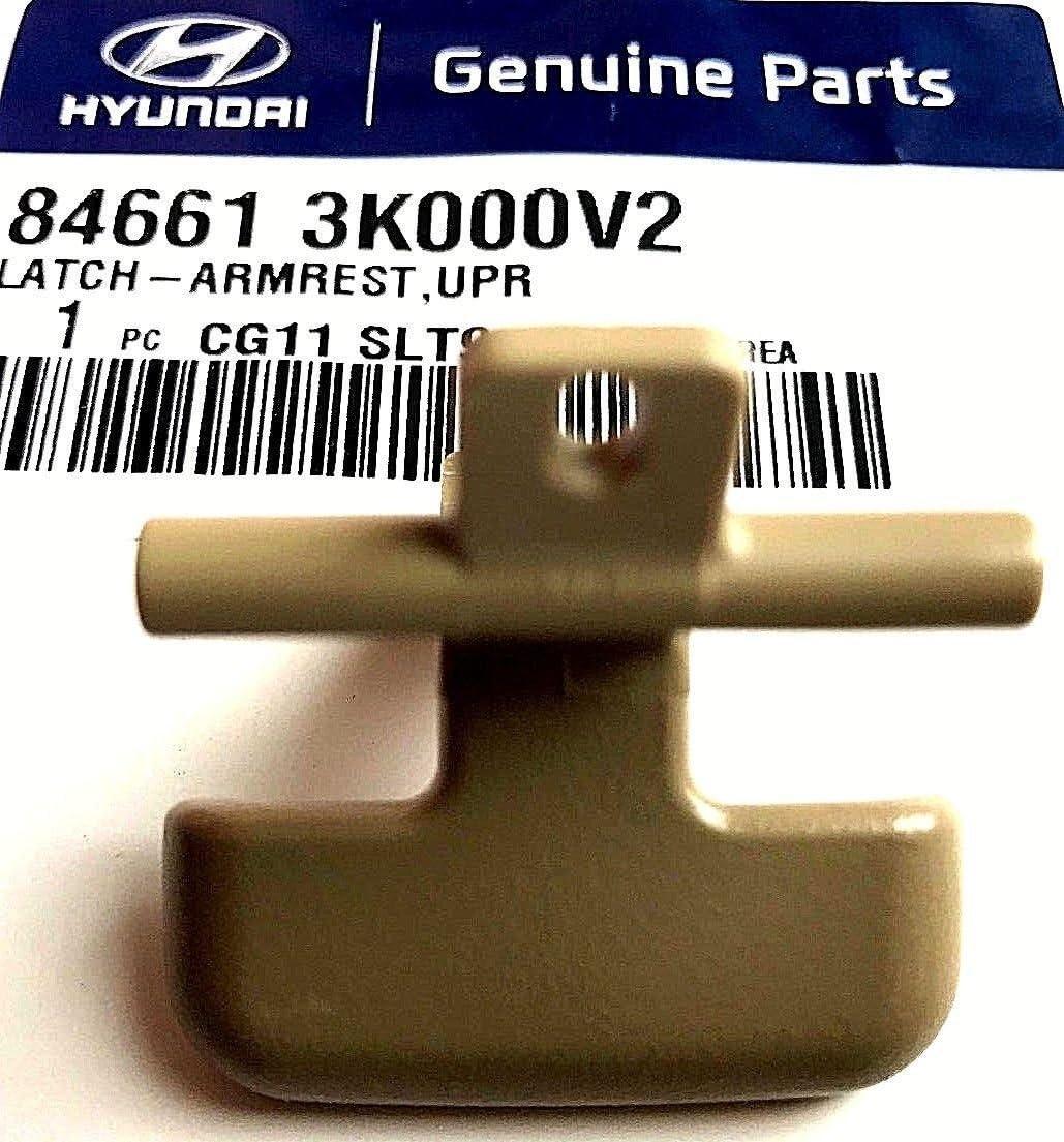 NEW Genuine Center Console Armrest Lower Latch OEM Sonata 06-10 W//O Trans BEIGE
