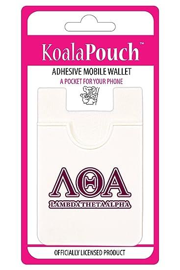 Lambda Theta Alpha - Koala Pouch - Adhesive cell phone wallet