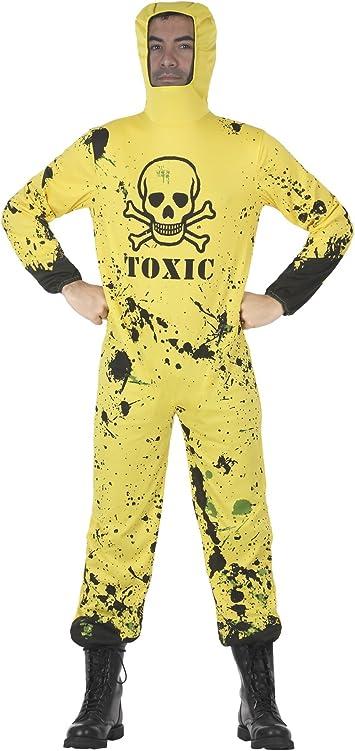Atosa-29140 Disfraz Mono Protección Epidemias, Color Amarillo, ML ...