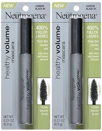 Neutrogena Cosmetics Healthy Volume Mascara - Carbon Black (01) - 2 pk