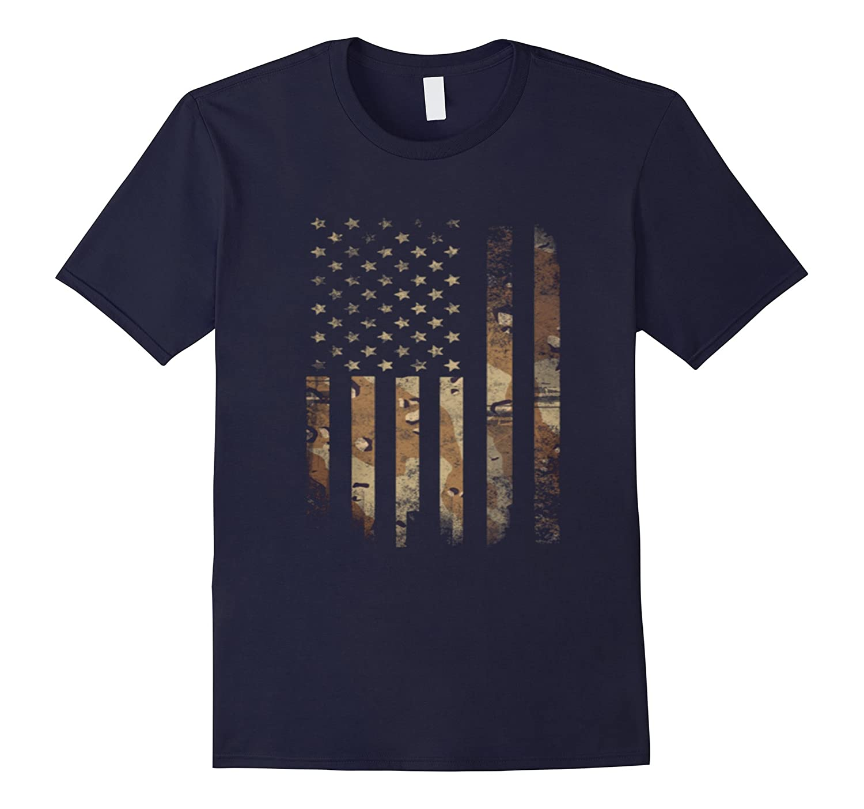 American Camo Flag T Shirt-Art