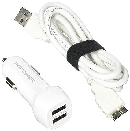 Cargador de Coche: Cargador de Coche USB de 3 Puertos de 5,2 ...