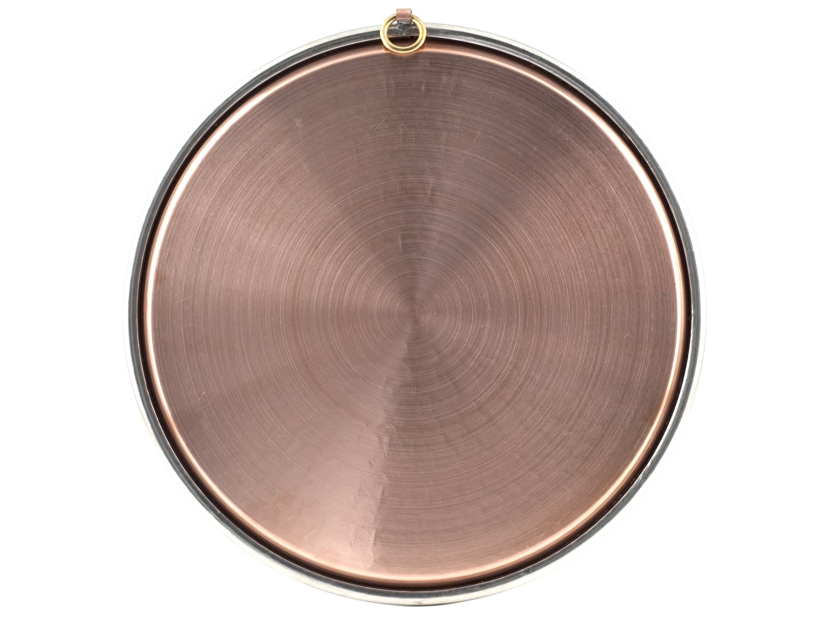 Baking pan in tinned copper cm. 37