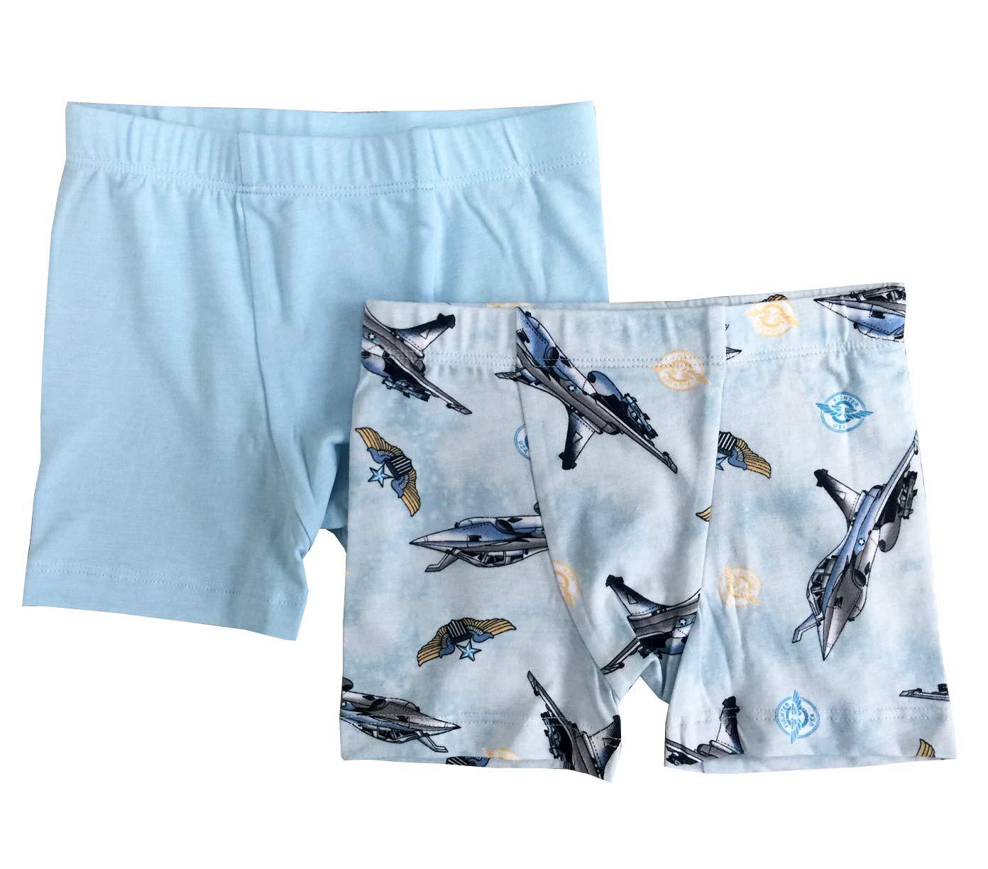 Esme Boys Boxer Underwear S 4-5 Jet