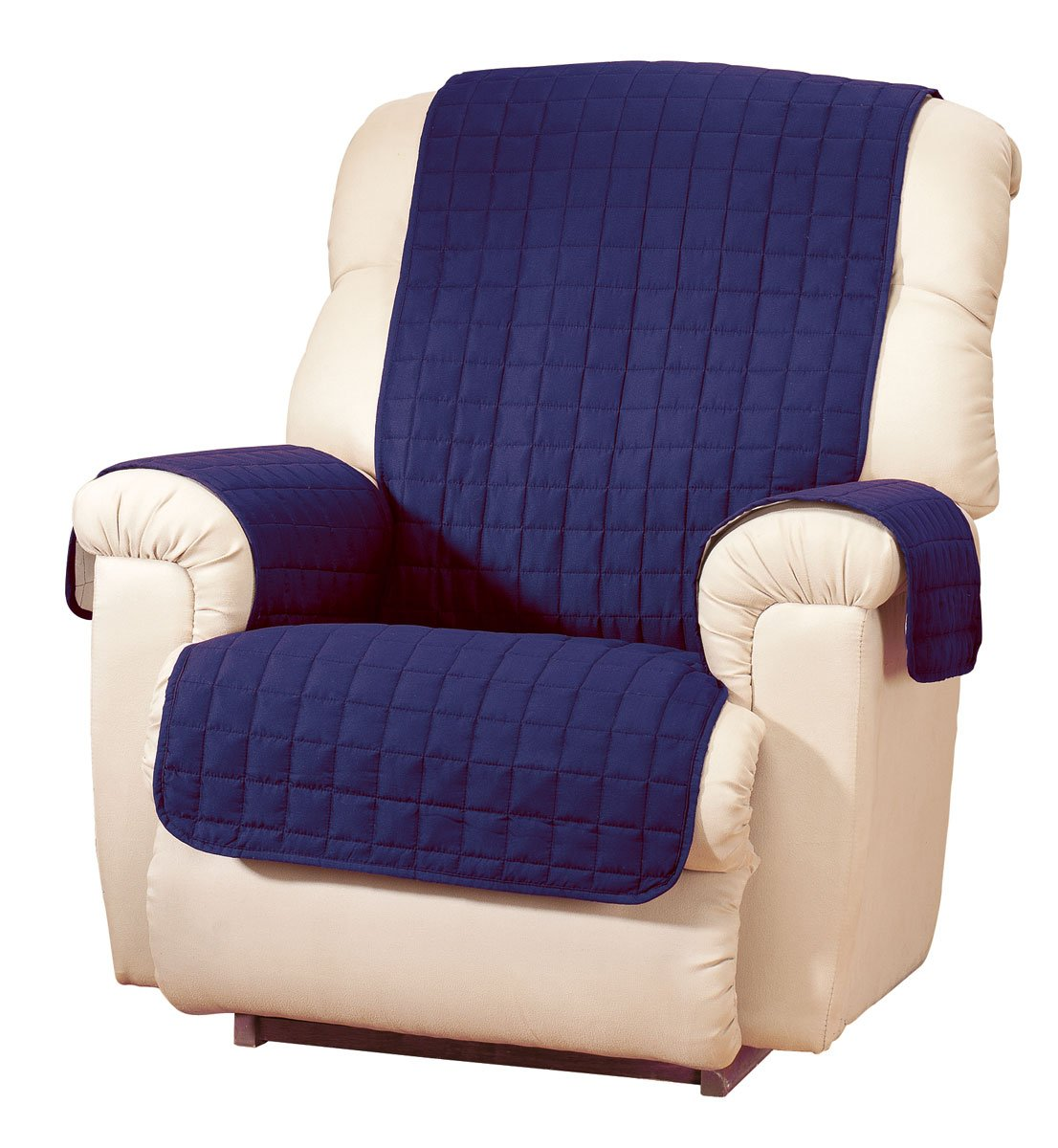 Amazon.com: Microfiber Recliner Protector By OakRidge ComfortsTM: Home U0026  Kitchen
