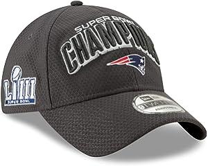 New Era New England Patriots Super Bowl LIII Champions Parade 9Twenty  Snapback Adjustable Hat - Graphite 58adc8e76