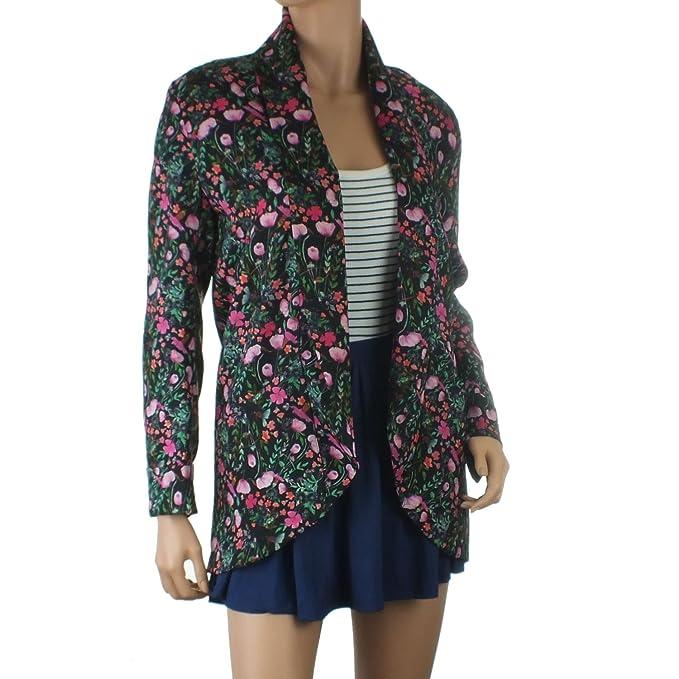 Ex diseño de flores de Blazer Atmosphere traje de neopreno para mujer  ligera chaqueta de hípica para niños borde superior abierto a borde de  pared para ... 7e6270782125
