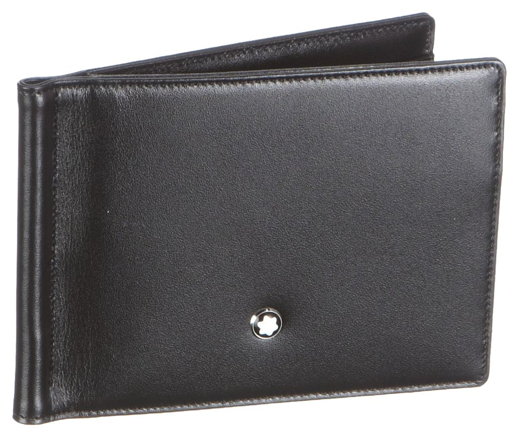Mont Blanc Meisterstck 6 Credit Wallet with Money Clip