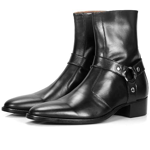 Vincent Harness - Botas con Cremallera, Color Negro, Color, Talla ...