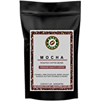 Mocha Coffee Beans - Agro Beans ( Freshly Roasted Award Winning Coffee Beans) (Aeropress-Preground Medium Fine, 1kg)