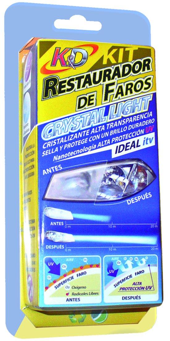 Kit Restauració n de Faros con Cristalizante y Protector UV Kaende