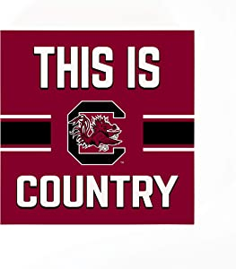 P. Graham Dunn This is University of South Carolina Country 5.5 x 5.5 Wood Tabletop Sign