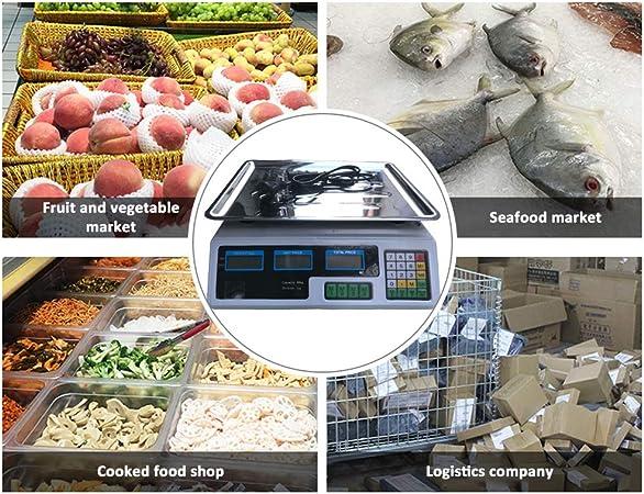 B/áscula fruteria alimentos comida digital,Roeam Balanza electronica frutera comercio peso fruta