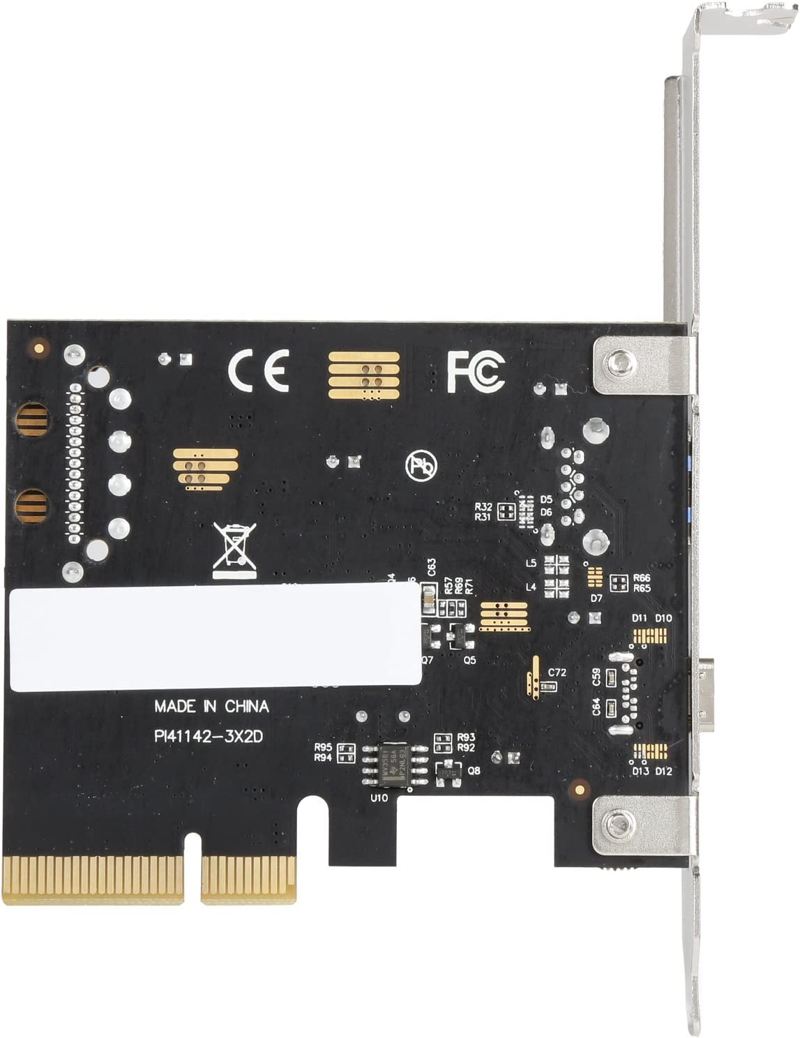 with 4 pin Male Molex Power Connector /& Renesas Chipset Super Speed Up to 5Gbps 4 USB 3.0 Ports PCIe Card Rosewill PCI-E to USB 3.0 4-Port PCI Express Expansion Card
