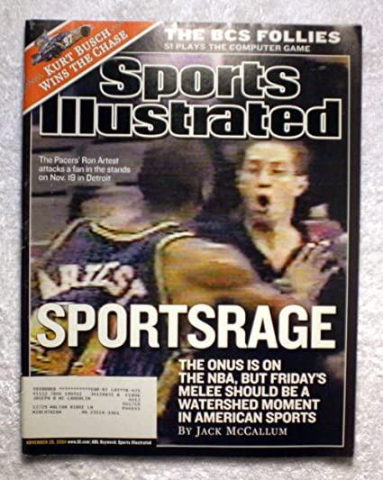 Ron Artest (Metta World Peace) - Indiana Pacers - Sports Rage - Sports  Illustrated 60ac81570