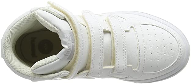 2da52007920b70 Hummel Unisex-Kinder Stadil Tonal JR HI High-Top Weiß (White 9001) 37 EU   Amazon.de  Schuhe   Handtaschen