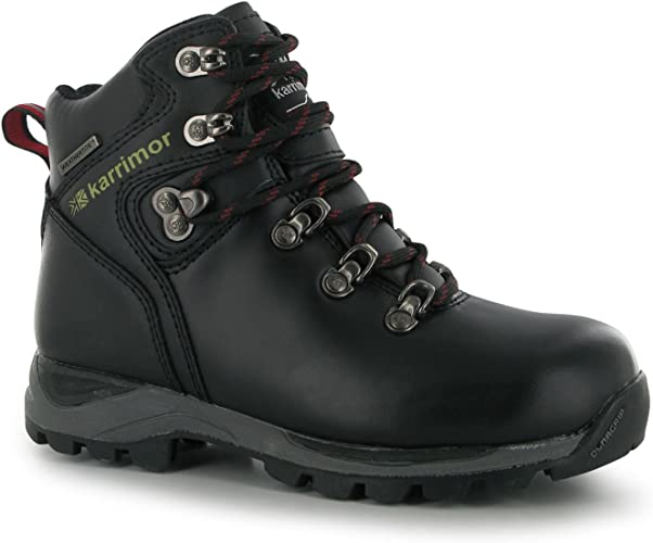Karrimor Kids Skido Walking Boots Waterproof Hiking Shoes
