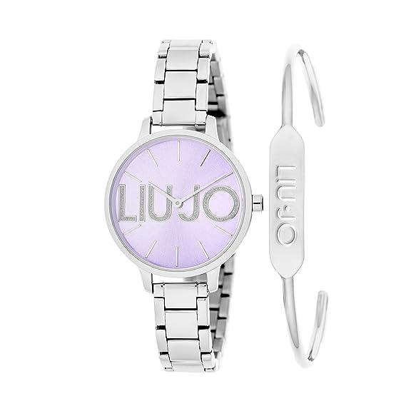 cb2afca6a7b22 orologio solo tempo donna Liujo Couple trendy cod. TLJ1287  Amazon.it   Orologi