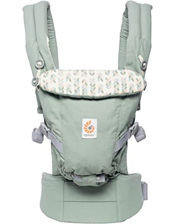 Ergobaby Mochila Portabebé Ergonomica para Recién Nacido a 20kg, Adapt 3-Posiciones Sage