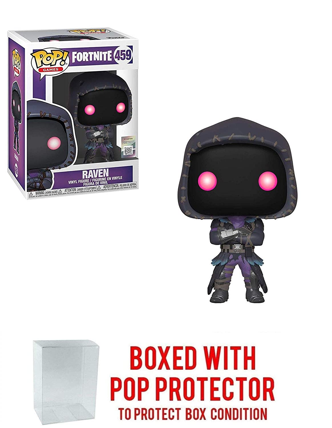 Amazon.com: Funko POP! Fortnite: Raven - Stylized Vinyl ...