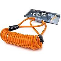 Artago R1 Cable Recordatorio Seguridad Acero Trenzado Flexible, Más Universal Dimensiones Óptimas, Naranja