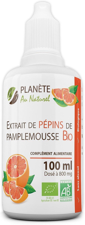 Extrait de pépins de pamplemousse bio Planète au naturel