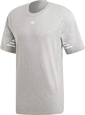 adidas Outline tee - Camiseta de Manga Corta Hombre: Amazon.es: Ropa y accesorios