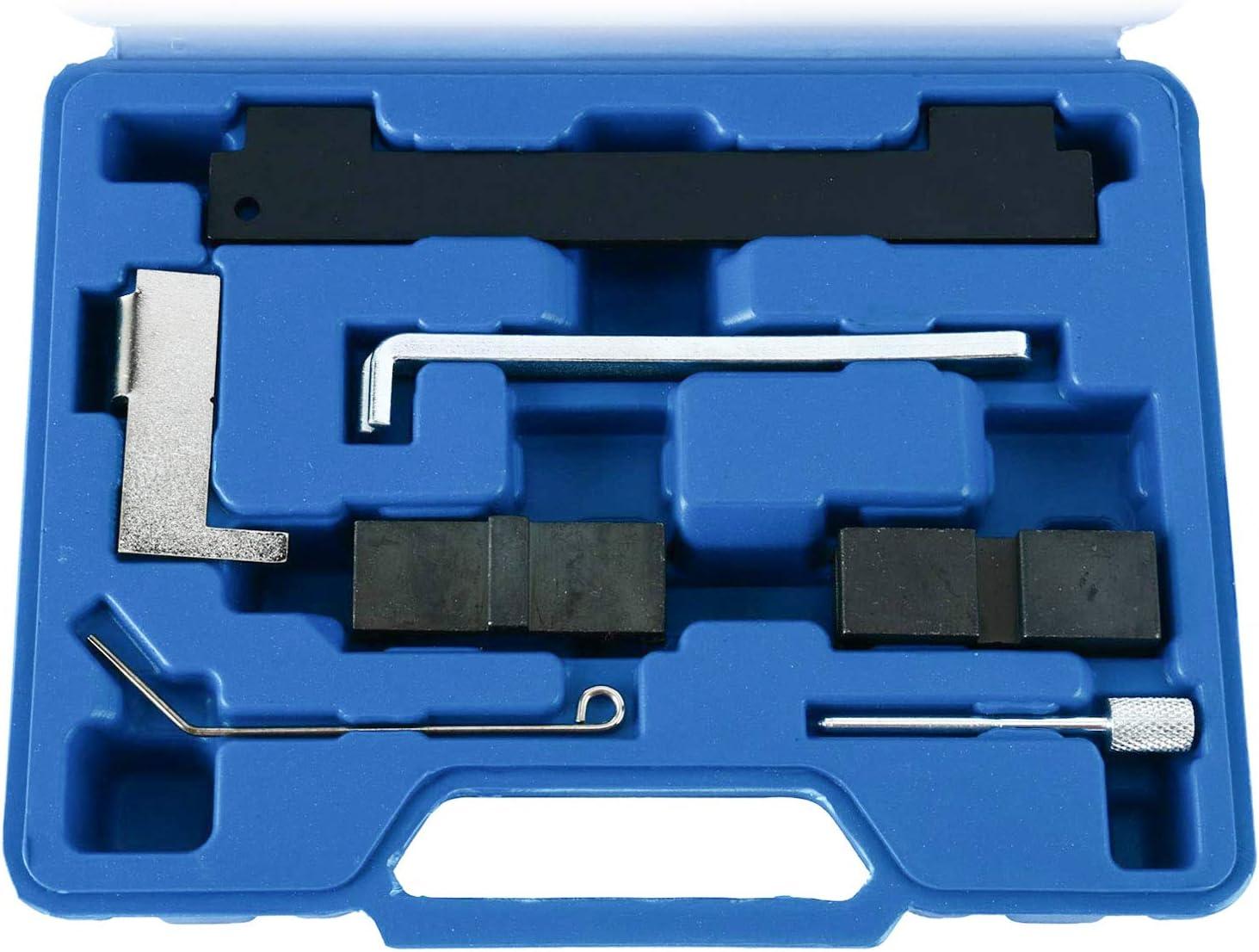 FreeTec Juego de herramientas de sincronización de alineación de bloqueo del árbol de levas Compatible con Chevrolet Alfa Romeo 16V 1.6 1.8: Amazon.es: Coche y moto