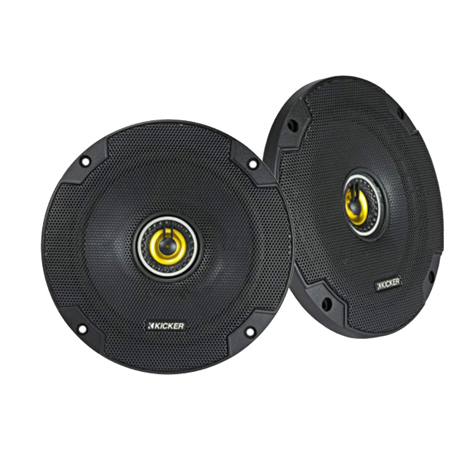 Kicker 46CSC654 Car Audio 6 1/2'' Coaxial Full Range Stereo Speakers Pair CSC65 by KICKER