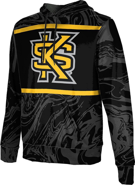 School Spirit Sweatshirt Ripple ProSphere Kennesaw State University Mens Pullover Hoodie