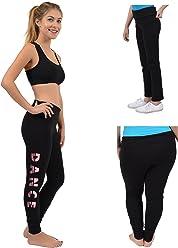 568cc30d3937f Stretch is Comfort Teamwear Glitter Dance Foldover Leggings