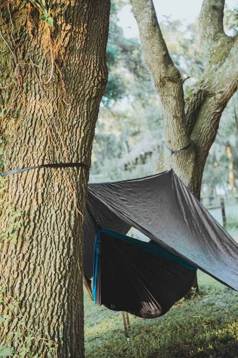 2000mm Waterproof Premium Camping Live Infinitely 75D Ripstop Lightweight Hammock Rain Fly Extra Long 144 Ridgeline 172 Backpacking /& Hammock tarp with Guy Lines /& Stakes