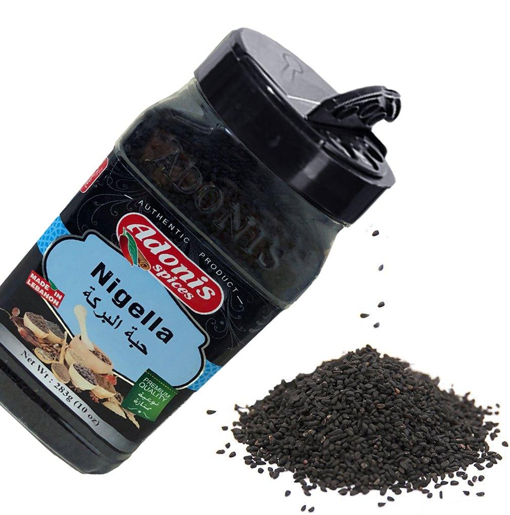 Amazon Com Adonis Black Seed 283g 10oz Nigella Kalonji