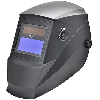 Antros ah6 - 260-0000 energía Solar casco con modo careta de seguridad para soldar AntFi260 Extra anchos para hombre de pantalla 4/5-9/9-13 con ...